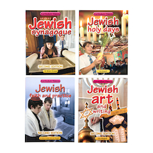 Jewish Faith Books 4pk  medium
