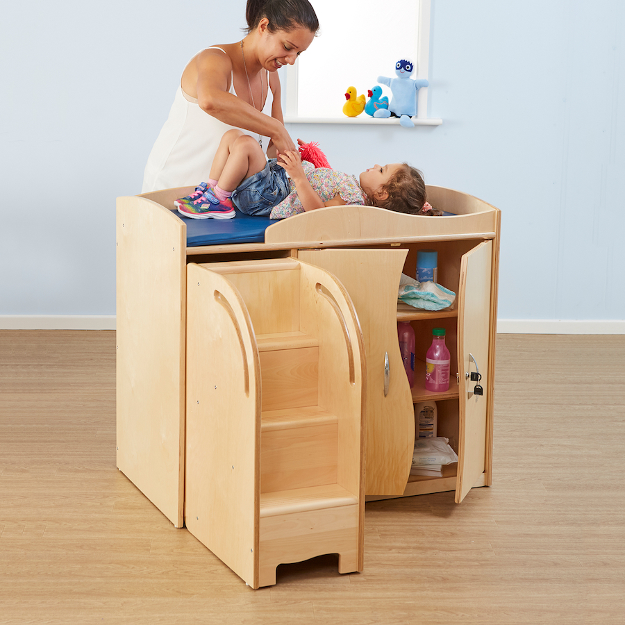7b146f9db290 Buy Walk Up Baby Changing Table with Steps | Free Delivery | TTS