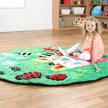 Back to Nature Giant Snuggle Floor Mat  medium