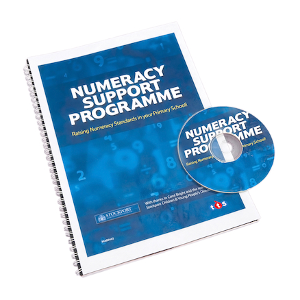 Buy Primary Numeracy Support Programme Book and CD | TTS International