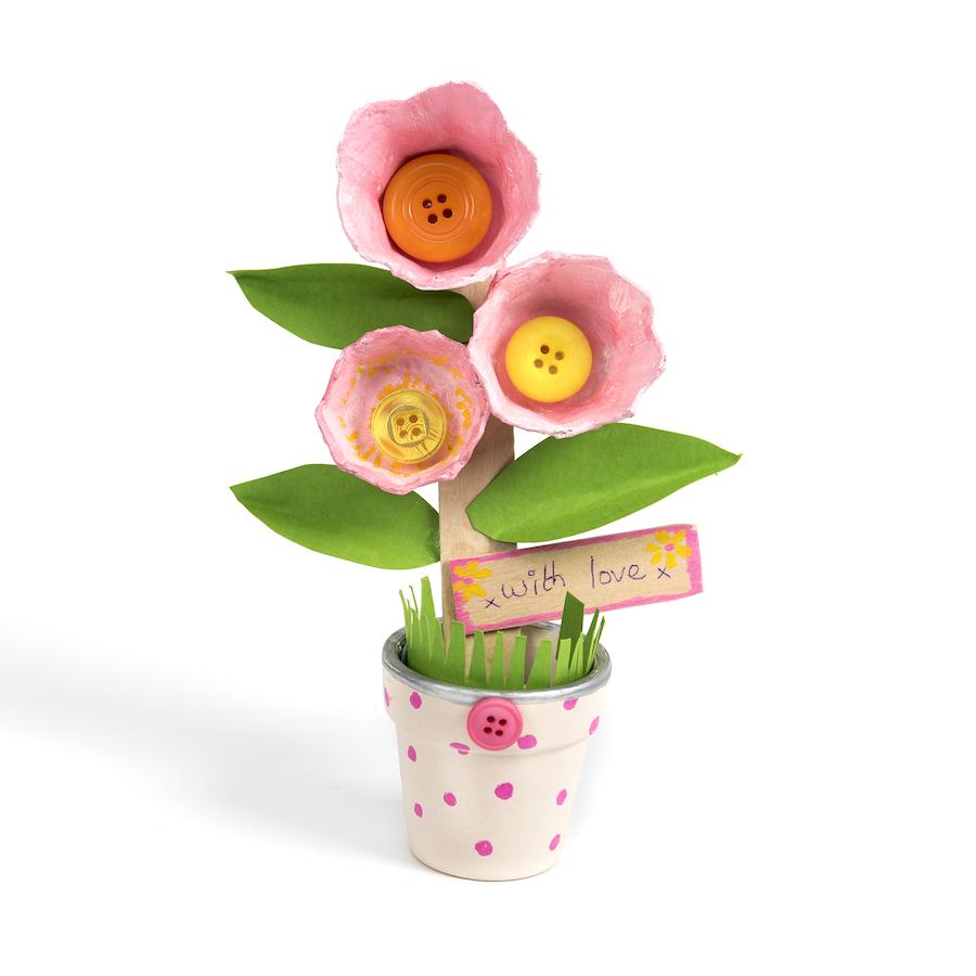 Buy Terracotta Craft Flower Pots H46mm 48pk Tts International