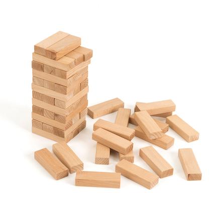 Buy Wooden Building Bricks TTS International Extraordinary Wooden Bricks Game