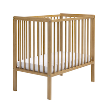 Space Saver Wooden Cot with Mattress  medium