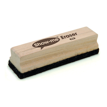 Show-me Wooden Handled Large Board Erasers 12pk  medium