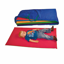 Premium Stitched Sleep Mats with Storage Bag 6pk  medium