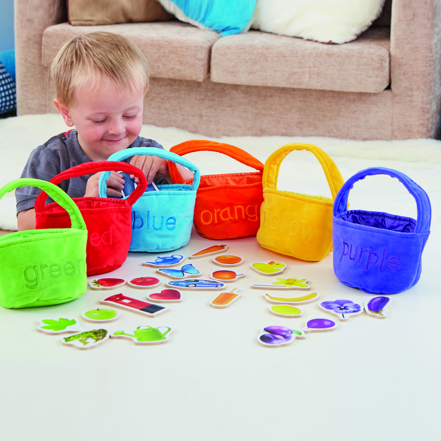 Buy Colour Sorting Shopping Bags and Objects | TTS International