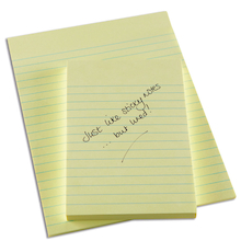 Lined Sticky Note Pads  medium