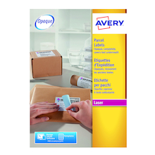 Avery A4 Blockout Parcel Labels  medium