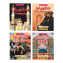 Muslim Faith Books 4pk  medium