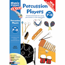 Percussion Players Book and CD Rom  medium