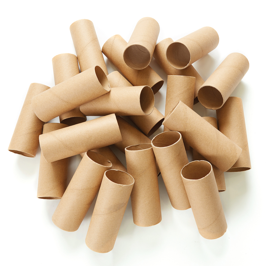 buy recycled sturdy cardboard craft tubes 24pk tts