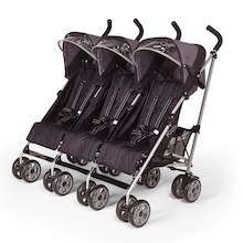 Premier Triple Pushchair Suitable from Birth  medium