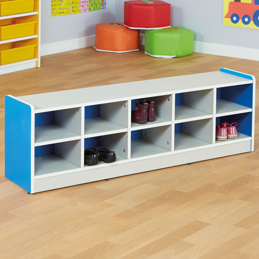 Siena Shoe Storage Unit Blue large TTS School Resources Online Shop & Buy Siena Shoe Storage Unit | TTS International