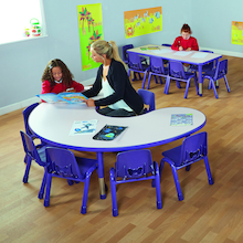Valencia Classroom Furniture Set Purple  medium