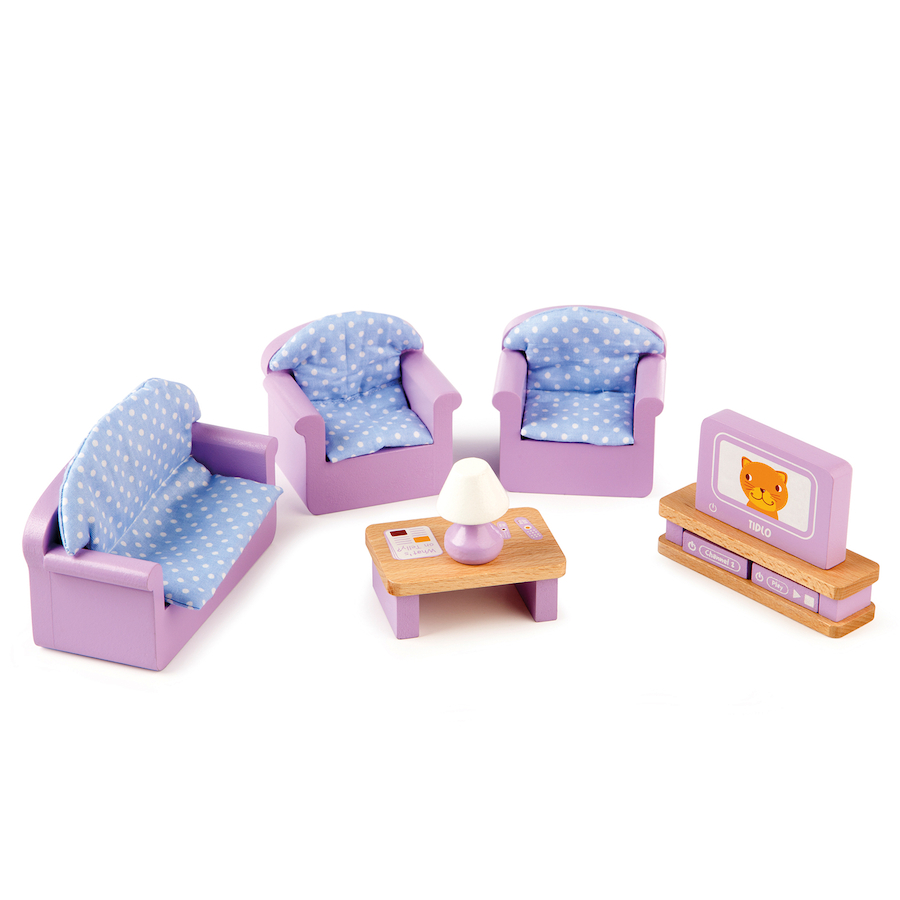 ... Small World Dolls House Furniture Set 40pcs Small