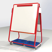 Mobile Magnetic Storage Easels  medium