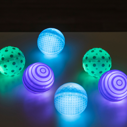 Light Up Tactile Glow Spheres  large