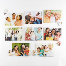 Photographic Modern Families Puzzles 8pk  medium