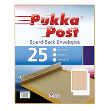 Pukka Board Back Envelopes  medium