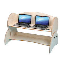 Double Computer Desk  medium