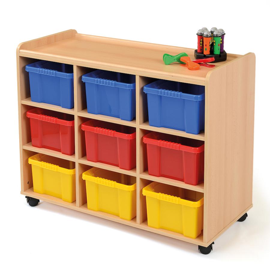 ... Safe Sturdy Tray Storage Units With Deep Trays Small ...