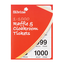 1-1000 Raffle & Cloakroom Tickets  medium