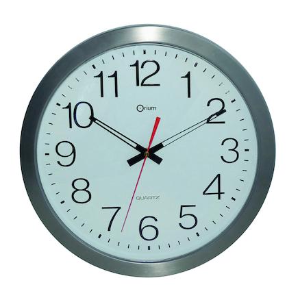 Outdoor Waterproof Stainless Steel Wall Clock Large
