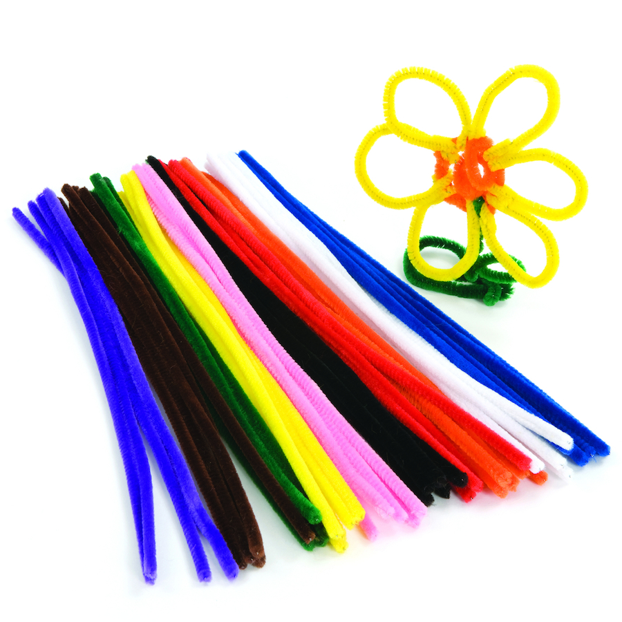 buy assorted pipe cleaners 50pk tts international