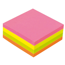 Consortium Sticky Note Cube 75x75MM  medium
