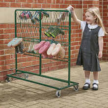 Metal Wellie Racks  medium
