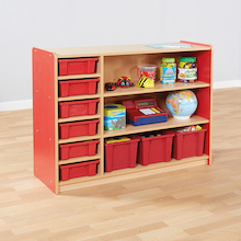Copenhagen Bookcase and Tray Storage  medium
