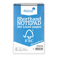 FSC Shorthand Spiral Notebook  medium