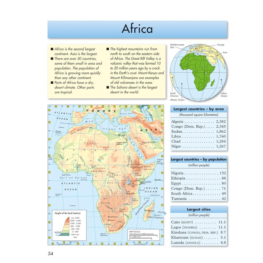 Map Of America Ks2.Buy Philip S Junior School Atlas Ks2 Tts International