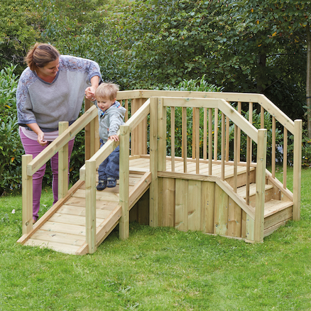 Buy Outdoor Toddler Ramp and Steps | TTS International