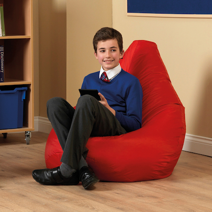 Large Bean Bag Reading Chairs  large
