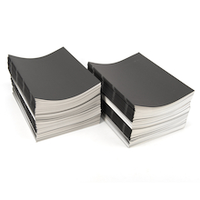 Pisces Stapled Sketchbooks Black A3 120gsm 100pk  medium