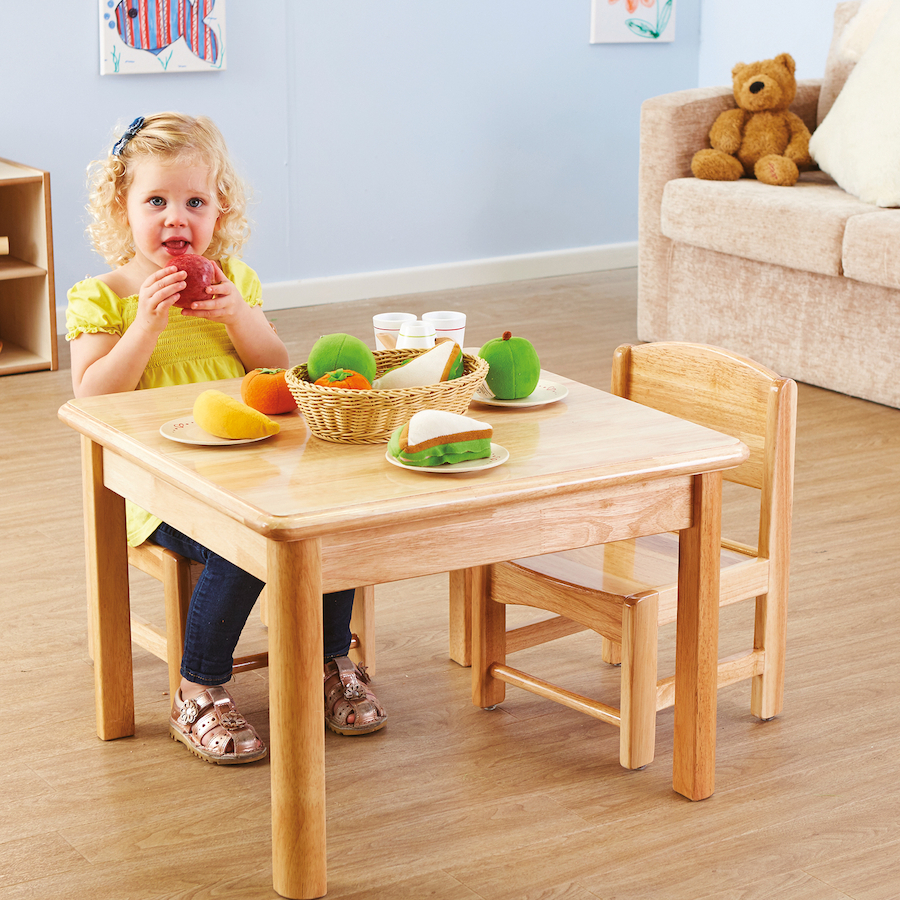 Merveilleux Toddler Role Play Table And 2 Chairs (3pcs) Large TTS School Resources  Online Shop