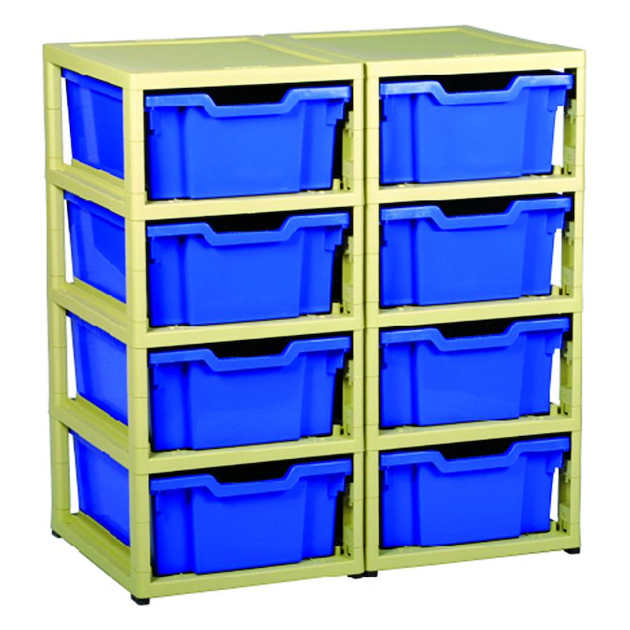 Gratnells GratStack Plastic Stacking Storage Units  sc 1 st  TTS & Buy Gratnells GratStack Plastic Stacking Storage Units | TTS ...