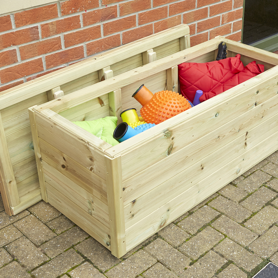 Ordinaire Large Outdoor Wooden Storage Chest