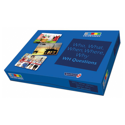 Who What When Where Why Discussion Cards A5 36pk  large