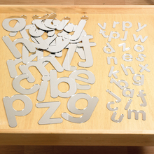 Double Sided Alphabet Mirrored Letters 26pk  medium
