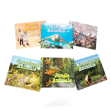 Animals In Their Habitats Book Pack KS1 6pk  medium
