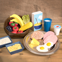 Role Play Eat Well Food Set  medium