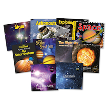 KS1 Solar System Books 10pk  medium