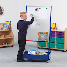 Store 'n' Write Mobile Whiteboard 1.34m  medium