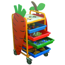 Fruit and Snack Preparation Trolley  medium