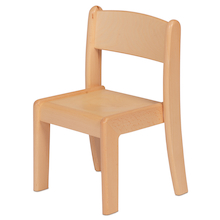 Beech Stacking Chair Pack of 4  medium