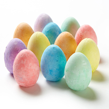 Egg Shaped Chalks Assorted 12pk  medium