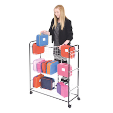 Budget Metal Lunch Box Trolley  medium
