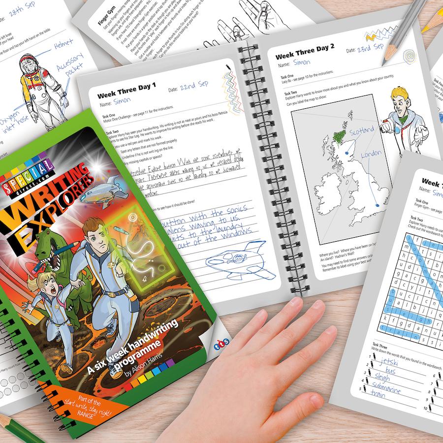 Buy Writing Explorers Handwriting Activity Programme | TTS